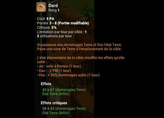 Dard - Dofus