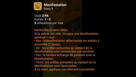Manifestation - Dofus