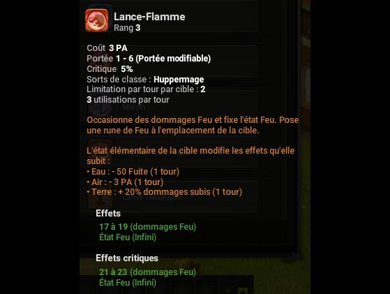 Lance-Flamme - Dofus