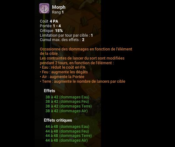 Morph - Dofus