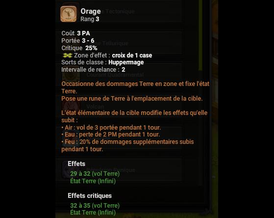 Orage - Dofus