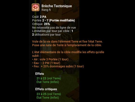 Brèche Tectonique - Dofus