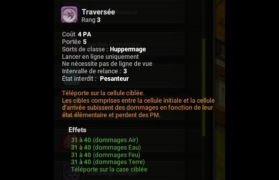 Traversée - Dofus