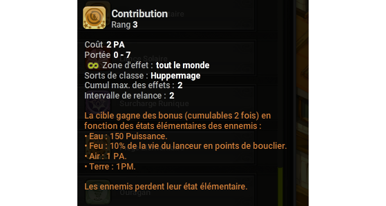 Contribution - Dofus