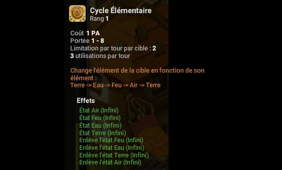 Cycle Elémentaire - Dofus
