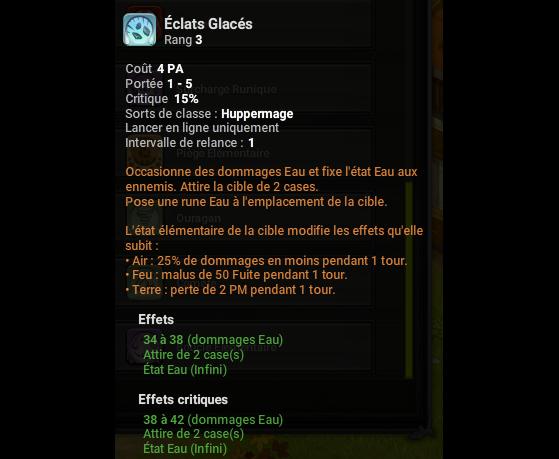 Eclats Glacés - Dofus