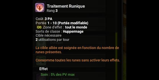 Traitement Runique - Dofus