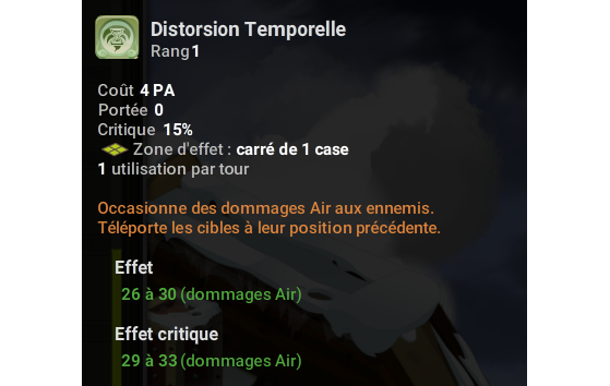 Distorsion Temporelle - Dofus