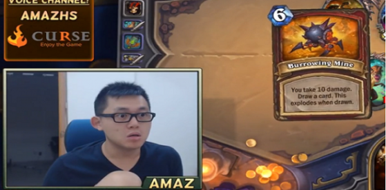 Hearthstone, Amaz en Dungeon Run
