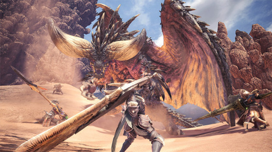 Monster Hunter World : Grande épée