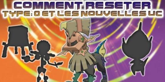 Reset dans Pokémon Ultra Soleil & Lune