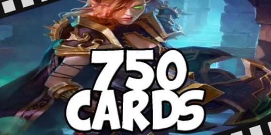 Une Lynessa qui fait piocher 750 cartes