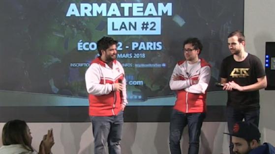 Hearthstone, LAN armaTeam 2 à Paris