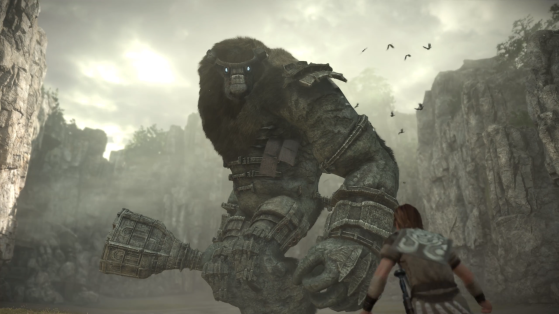 Le premier colosse. - Shadow of the Colossus