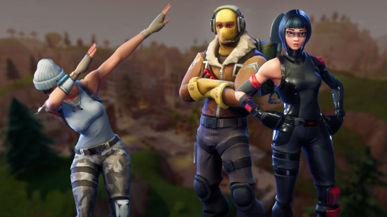 Fortnite les skins et skins gratuits millenium for Fond ecran fortnite
