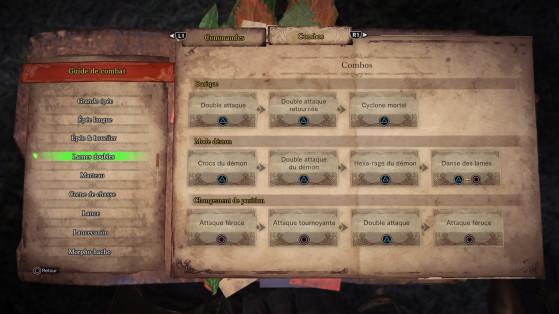 Des tutoriels très complets couvrent chaque aspect du jeu - Monster Hunter World