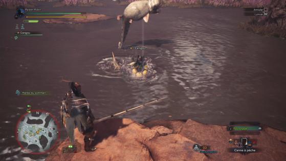C** de chat qui m'empêche de pêcher en paix - Monster Hunter World