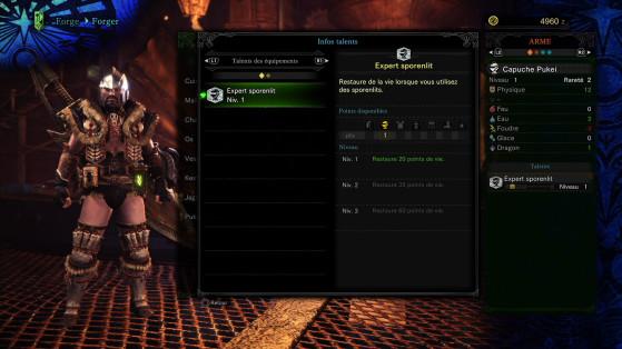 Des débuts modeste, en slip avec un bonus aux pissenlits - Monster Hunter World