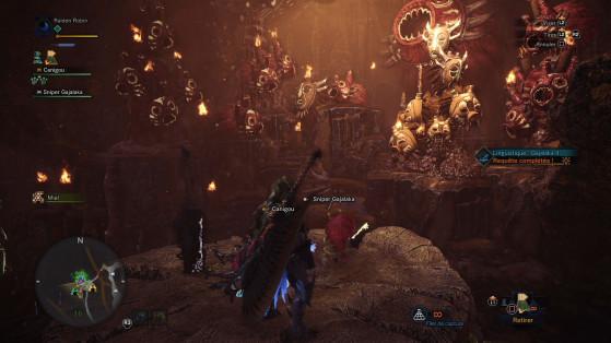 Chaque zone regorge de secrets intéressants - Monster Hunter World