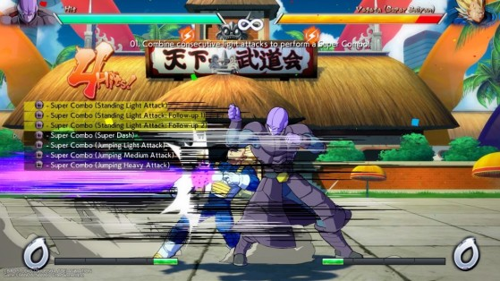 Exemple d'auto-combo - Dragon Ball FighterZ