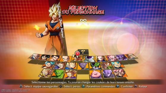 Roster de 24 personnages (manque seulement C-21) - Dragon Ball FighterZ
