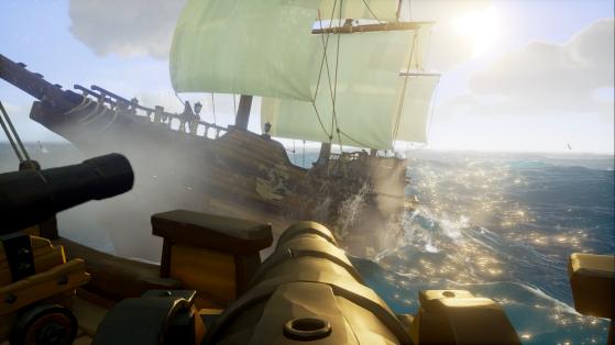 La mort n'est pas une fatalité : vous reviendrez sur votre bateau après une petite visite de courtoisie chez les damnés. - Sea of thieves