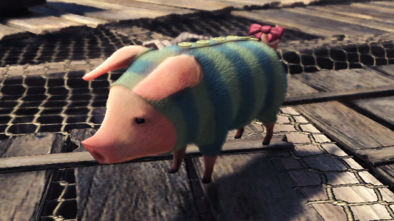 Monster Hunter World : Poogie