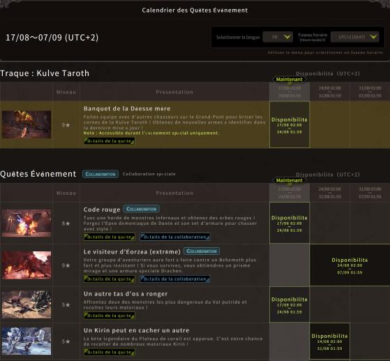 http://www.monsterhunterworld.com/eventquest/MHW_EventQuest_FR.pdf - Monster Hunter World