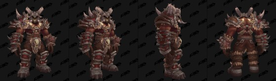 Orc Mag'har mâle : Clan Chanteguerre - World of Warcraft