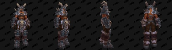 Orc Mag'har femelle : Clan Loup-de-Givre - World of Warcraft