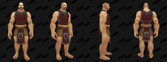 Apparence du Tabard des Clans Mag'har - World of Warcraft