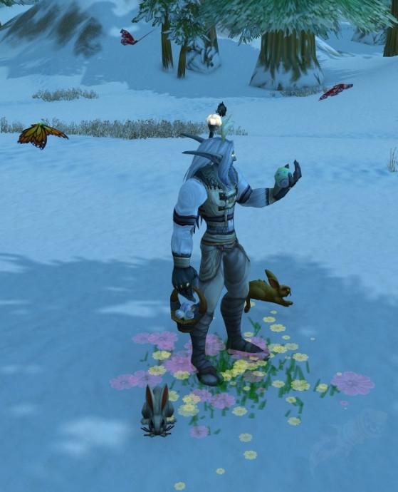 Effet de la Pierre de foyer du noble jardinier (Non je n'ai pas encore eu le temps de la farm, mea-culpa) - World of Warcraft
