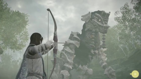 Shadow of the Colossus PS4 : Colosse 4, Phaedra