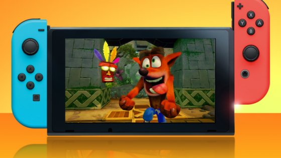 Une version Switch et PC — Crash Bandicoot