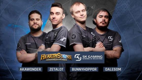Hearthstone : le nouveau roster SKGaming