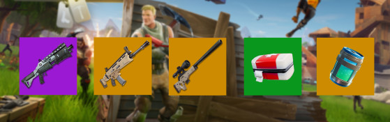 Le soutien/sniper - Fortnite : Battle royale