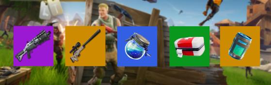Support/sniper - Fortnite : Battle royale