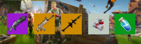 L'attaquant - Fortnite : Battle royale