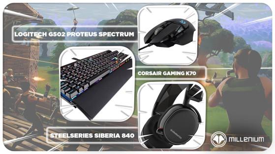 Fortnite Ninja Equipement Raccourcis Sensibilite Options