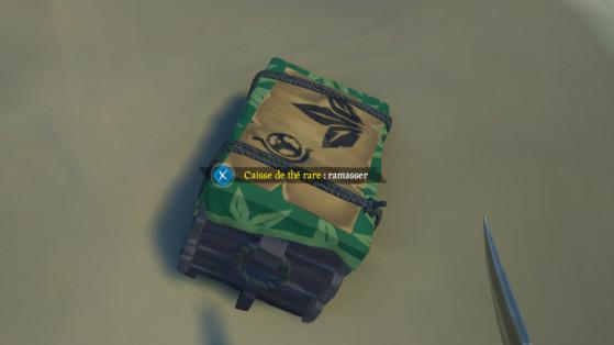 Une caisse de thé rare échouée - Sea of thieves