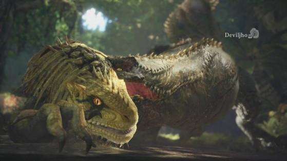 Monster Hunter World : Débloquer le Deviljho & la Peau-de-dragon