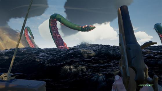 Sea of Thieves : Le Kraken, comment le vaincre