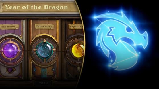 Hearthstone : extensions Année du Dragon, calendrier
