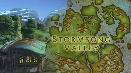 WoW BFA : Vallée Chantorage, zone de Kul'Tiras