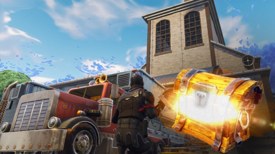 Fortnite : Guide de loot, fouiller des coffres à Flush Factory