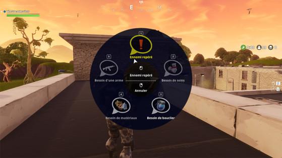Fortnite : une roue des émotes pour communiquer