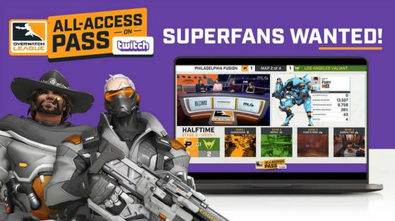 Overwatch League : All Access Pass, vue à la première personne