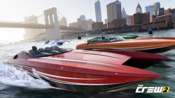 Prenez enfin les mers avec le bateau, grosse nouveauté de ce The Crew 2 - Top Jeux