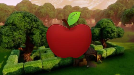 Fortnite : la pomme, nouveau consommable
