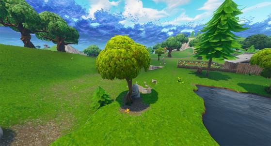 Un arbre à pommes - Fortnite : Battle royale